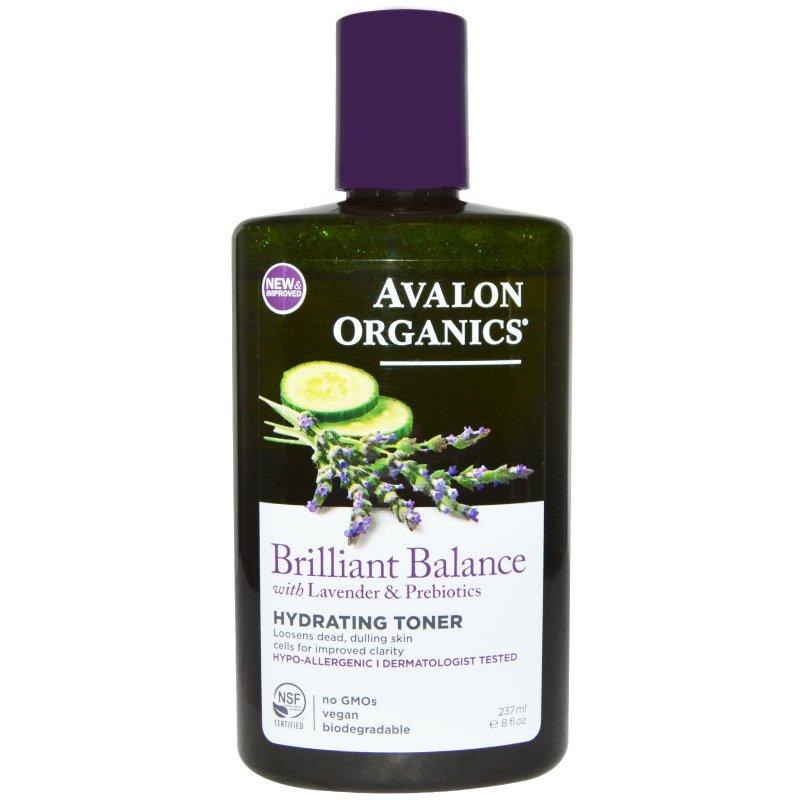 Avalon Brilliant Balance Hydrating Toner 8 Oz