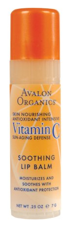 Avalon Active Organic Soothing Lip Balm With Vitamin C 16 x 0.25 Oz