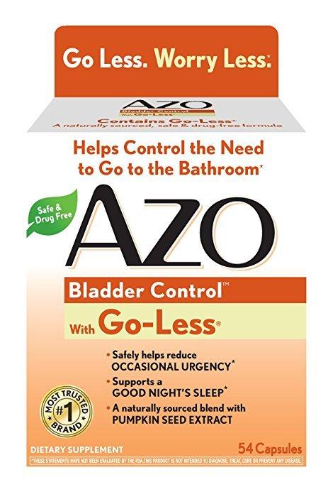 Azo Bladder Control 54 Capsules