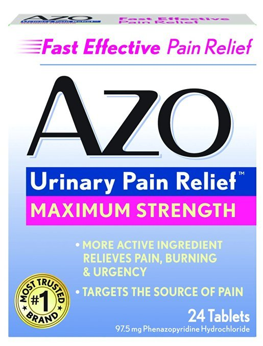 Azo Urinary Pain Relief 24 Tablet