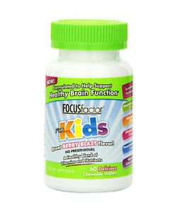 Focus Factor For Kid's Chew Able 60 Tablet