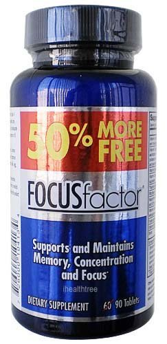 Focus Factor Brain Nutrition 90 Tablet