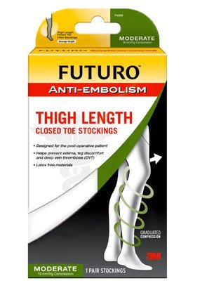 Futuro Anti Embolism Thigh Length Stockings