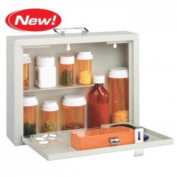 Image 0 of Med Master Premium Locking Med Cabinet Dropship