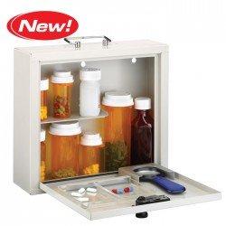 Image 0 of Med Master Deluxe Locking Medium Cabinet Dropship