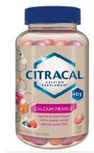 Citracal Pearls Calcium   D3 70 Chews