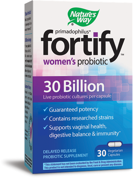 Image 0 of Fortify Women's 30 Billion Probiotic 30 Ct