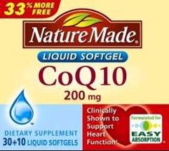 Image 0 of Nature Made CoQ10 40 Soft Gel Capsules