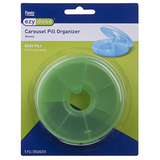 Carousel Pill Organizer 67702 Weekly Api