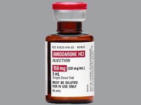 Amiodarone Hcl 150 Mg 3 Ml SDV 25 x 3 Ml By Fresenius Kabi