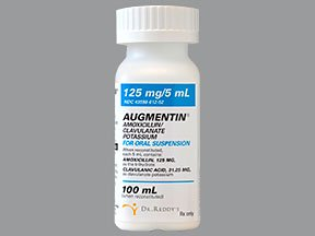 Augmentin 125Mg / 5Ml Suspension 100 Ml By Dr. Reddy's Labs