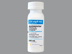 Augmentin 125Mg / 5Ml Suspension 150 Ml By Dr. Reddy's Labs