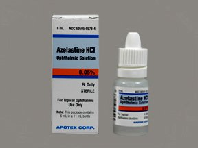 Azelastine 0.05% Oph Solution 6 Ml By Apotex Corp