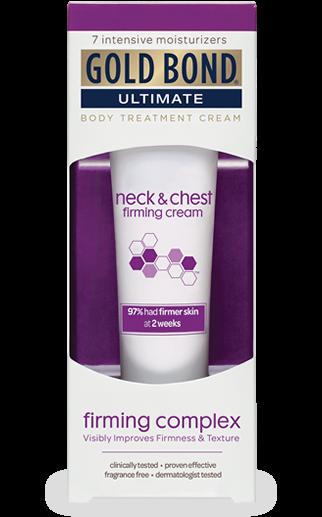 Gold Bond Ultimate Firm Neck Chest Cream 2 Oz