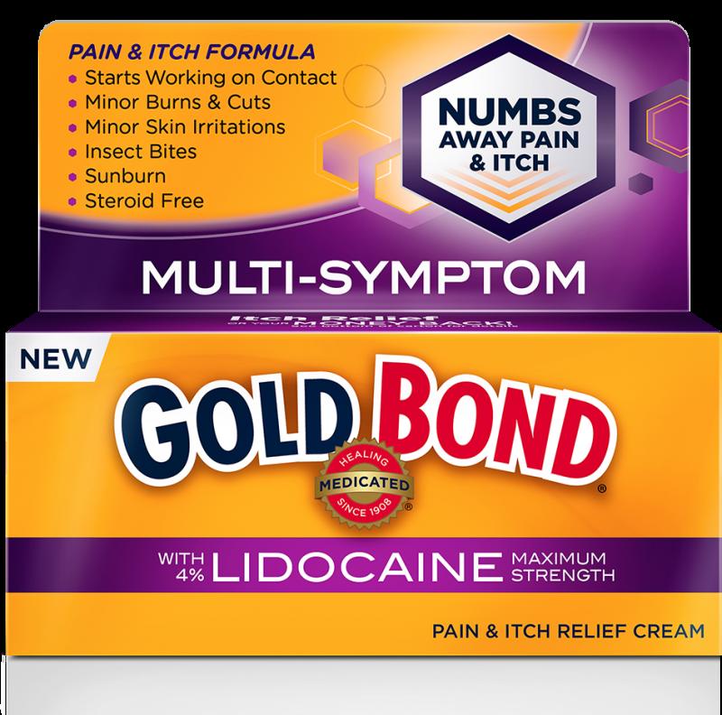 Gold Bond Ultimate Pain Itch Lidocaine Cream 1.75 Oz