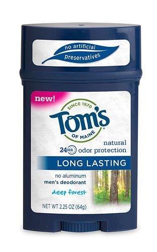 Tom's of Maine Long Lasting Deep Forest Deodorant Stick 2.25 Oz