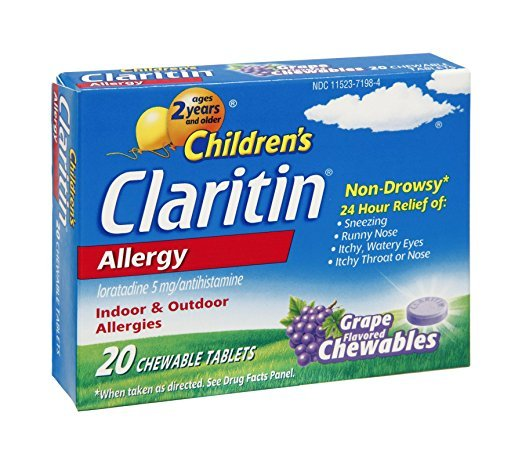 Claritin Child 5 Mg 24Hr Grape 20 Chewable