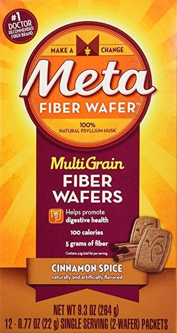 Metamucil Cinnamon Spice Wafer 24 Ct