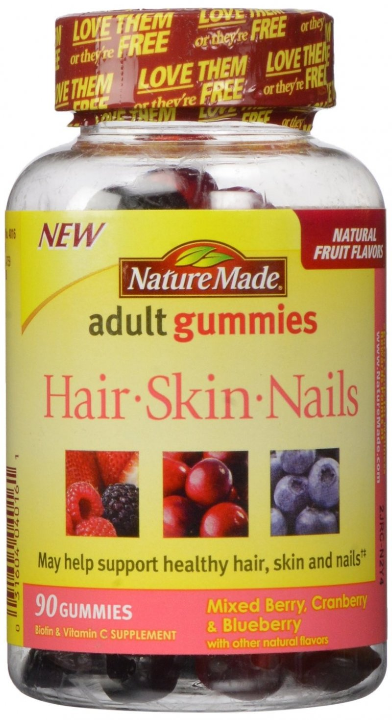 Nature Made Hair Skin Nail 90 Gummies