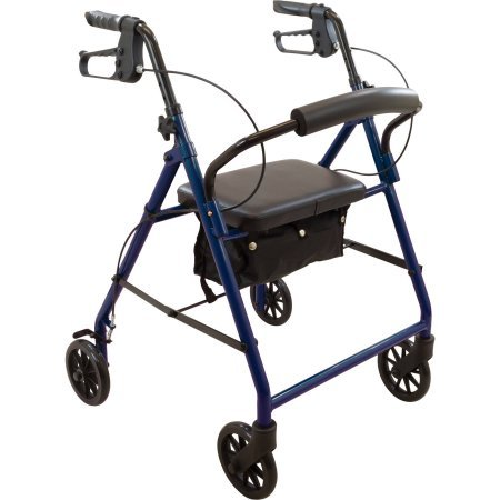 Basic Steel Rollator Blue