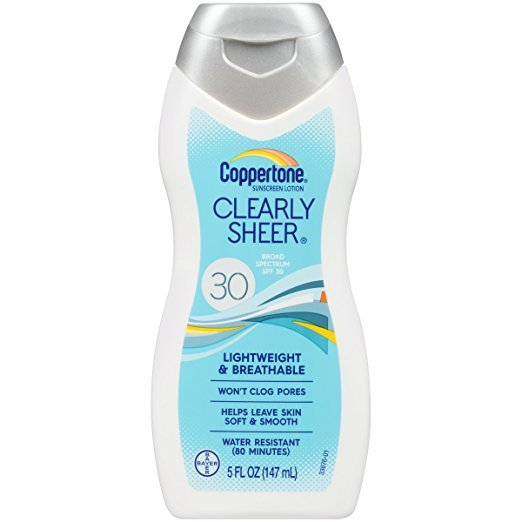Image 0 of Coppertone SPF 30 Clear Sheer Sun Lotion 5 Oz