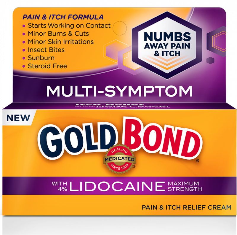 Gold Bond Med Pain Itch Spy Lidocaine 2 Oz