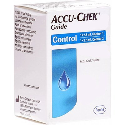 Accu Chek Guide Control Solution 2 Level