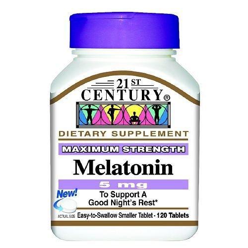 21st Century Melatonin 5 Mg 120 Tablet