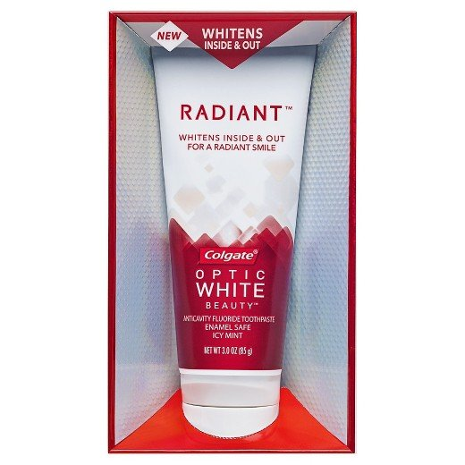 Colgate Optic White Beauty Radiant Toothpaste 3 Oz