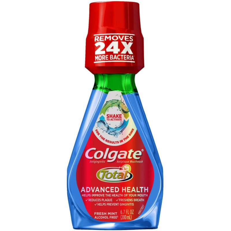Colgate Total Advanced Health Mouthwash Mint 200 Ml