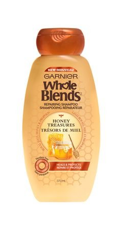 Image 0 of Garnier Whole Blends Honey Treasure Shampoo 12.5 Oz