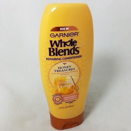 Image 0 of Garnier Whole Blends Honey Treasure Conditioner 12.5 Oz