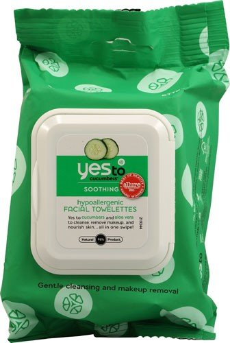 Yes To Facial Wipes Cucumber 25 Ct
