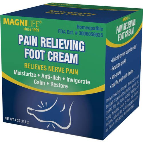 Image 0 of Magnilife Pain Relieving Foot Cream 4 Oz