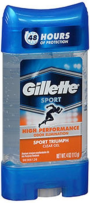 Gillete HP A/P Deo Gel Cool Sport 3.8 Oz