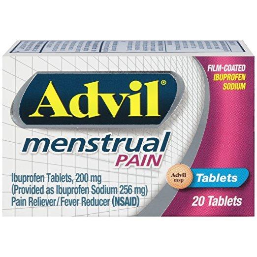Advil Menstrual Pain Tablet 20 Ct
