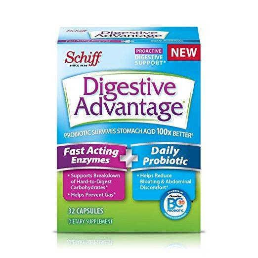 Digestive Advantage Fast Enzyme Probiotic 32 Caps