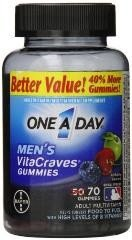 One A Day Men's Vita-craves Gummies 70 Ct