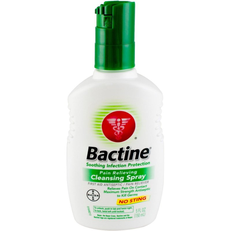 Bactine Pain Relieving Spray 5 Oz