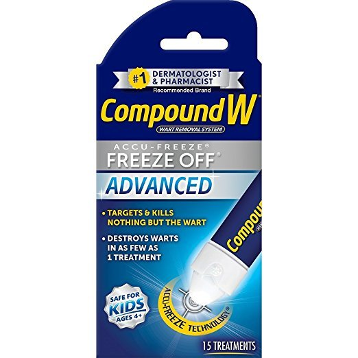 Image 0 of Compound W Freeze Off Advanced Wart Removal Pad 15 Ct