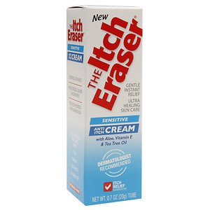 The Itch Eraser Sensitive Cream 0.70 Oz