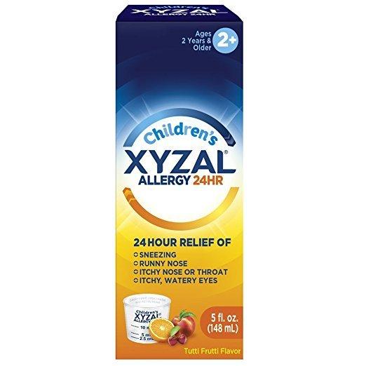 Xyzal Otc Child 5 Mg Oral Solution 5 Oz