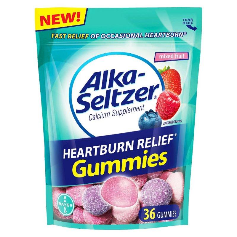 Alka Seltzer Heartburn Relief Gummy 36 Ct
