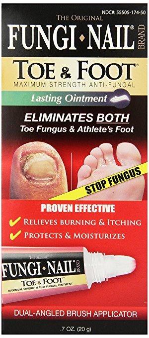 Fungi Nail Toe Foot Ointment 0.7 Oz