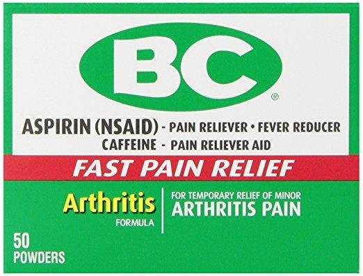 Bc Arthritis Strength Powder 50