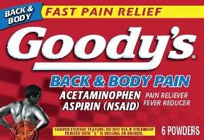 Image 0 of Goodys Headache Powder Back Body Pain 24 Ct