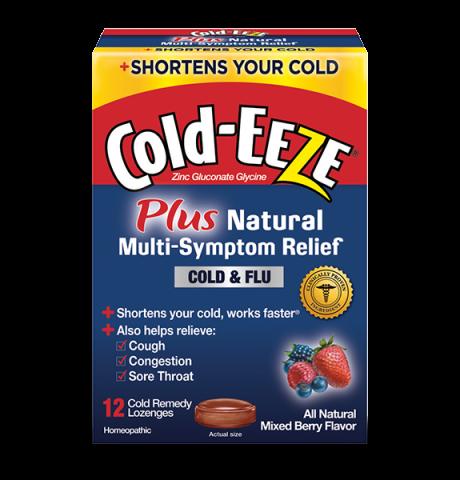Cold Eeze Multi Symptoms Cold & flu 12 Lozenges