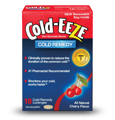Cold-Eeze Box Cherry 18 Lozenge
