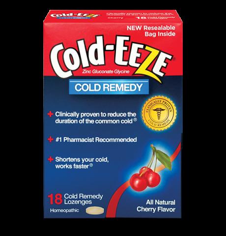 Cold Eeze Box Cherry 18 Lozenge
