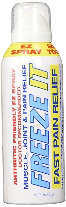 Freeze It Pain Relief Spray 4oz